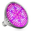 hesapli Güç Kaynakları-YWXLIGHT® 1pc 24W 2400-2500lm E27 Büyüyen ampul 120 LED Boncuklar SMD 5730 Dekorotif Mor 85-265V