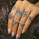 preiswerte Ohrringe-Damen Ring - Krystall, Aleación Retro Eine Größe Silber Für Alltag