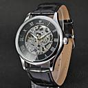 hesapli Erkek Saatleri-FORSINING Erkek Bilek Saati Otomatik kendi hareketli Siyah / Kahverengi 30 m Derin Oyma Analog Lüks Vintage Günlük Moda - Altın / Beyaz Gül Altın / Beyaz Siyah / Gül Altın / Paslanmaz Çelik