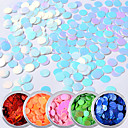 cheap Makeup & Nail Care-6pcs Sequins 6 colors nail art Manicure Pedicure Art Deco / Retro / Classic / Laser Holographic Daily