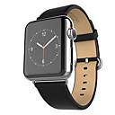 voordelige Apple Watch-hoesjes-Horlogeband voor Apple Watch Series 3 / 2 / 1 Apple Klassieke gesp Echt leer Polsband