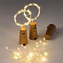 hesapli LED Şerit Işıklar-BRELONG® 1.5m Dizili Işıklar 15 LED'ler Kırmızı / Sarı / Pembe Dekorotif / Noel Düğün Dekorasyonu <5 V 1pc