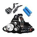 cheap Bike Lights-2400 lm Headlamps LED 4 Mode - ANOWL Portable / Professional / Impact Resistant