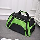 ieftine Câini Gulere, hamuri și Curelușe-Pisici Câine rucsac Animale de Companie  Genţi Transport Portabil Respirabil Pliabil Mată Mov Verde Albastru