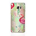 preiswerte Galaxy S Serie Hüllen / Cover-Hülle Für Samsung Galaxy S8 Plus S8 Muster Rückseite Flamingo Weich TPU für S8 Plus S8 S7 edge S7 S6 edge plus S6 edge S6