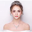 hesapli Bilezikler-Kadın's Temel Kristal Saç Bandı - Klasik Damat Tarzı