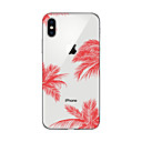 tanie Etui do iPhone-Kılıf Na Apple iPhone X iPhone 8 Plus iPhone 6 iPhone 7 Plus iPhone 7 Wzór Czarne etui Krajobraz Miękkie TPU na iPhone X iPhone 8 Plus
