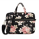 cheap Women's Watches-13.3 14.1 15.6 inch Rose Pattern Laptop Shoulder Bag with Strap Hand Bag for Surface/Dell/HP/Samsung/Sony etc