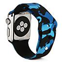 رخيصةأون Huawei أغطية / كفرات-حزام إلى أبل ووتش سلسلة 5/4/3/2/1 Apple عصابة الرياضة سيليكون شريط المعصم
