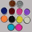 Χαμηλού Κόστους Μακιγιάζ και περιποίηση νυχιών-36 pcs Glitter & Poudre / Ακρυλική σκόνη / Πούλιες Λουλούδι / Αφηρημένο / Κλασσικό Lovely Καθημερινά / Ακρυλικό