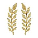 저렴한 헤어 쥬얼리-여성용 브로치 - Leaf Shape 베이직, 패션 브로치 골드 제품 데이트 / 거리