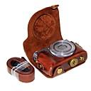 저렴한 케이스, 가방 & 스트랩-캐논 파워 샷 g9 x 마크 ii g9x g9x2 (다양한 색상)에 대한 dengpin pu 가죽 카메라 케이스 백 커버