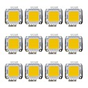 cheap LEDs-12pcs 1600lm Bulb Accessory LED Chip Brass 20W