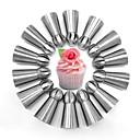 hesapli Fırın Araçları ve Gereçleri-Bakeware araçları Aluminyum Alaşım Pişirme Aracı Kek / Pişirme Kaplar İçin / Pasta Pasta Kalıpları 14pcs