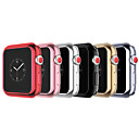 abordables Bracelets Apple Watch-apple watch silicone pare-chocs housse de protection pour apple montre 3 série 1 2 38mm 42mm
