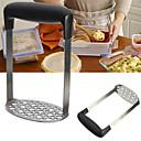 hesapli Meyve ve Sebze Araçları-Paslanmaz çelik el patates masher sebze pirinç mutfak aracı