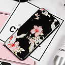 tanie Etui do iPhone-Kılıf Na Apple iPhone 8 iPhone 8 Plus Wzór Czarne etui Kwiaty Miękkie TPU na iPhone 8 Plus iPhone 8 iPhone 7 Plus iPhone 7 iPhone 6s Plus