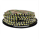 cheap Flexible LED Light Strips-5m Flexible LED Light Strips 600 LEDs 2835 SMD 5M LED Strip Light Warm White / Cold White Cuttable / Linkable / Self-adhesive 12 V 1pc