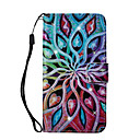 cheap Baking Tools & Gadgets-Case For Apple iPhone 8 iPhone 8 Plus Card Holder Wallet Rhinestone with Stand Pattern Full Body Cases Mandala Hard PU Leather for iPhone