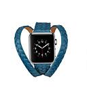 Недорогие Кейсы для Apple Watch-Ремешок для часов для Apple Watch Series 4/3/2/1 Apple Классическая застежка Натуральная кожа Повязка на запястье