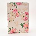 ieftine Folii de Protecție iPad-Maska Pentru Apple iPad Mini 3/2/1 / iPad Mini 4 Cu Stand / Întoarce / Model Carcasă Telefon Floare Greu PU piele
