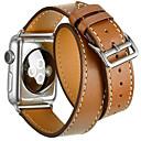 hesapli Mikroskoplar ve Büyüteçler-Watch Band için Apple Watch Series 3 / 2 / 1 Apple Modern Toka Gerçek Deri Bilek Askısı