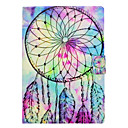 cheap iPad  Cases / Covers-Case For Apple iPad Pro 10.5 / iPad (2017) Card Holder / with Stand / Flip Dream Catcher Hard PU Leather for iPad Air / iPad 4/3/2 / iPad Pro 10.5