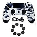 baratos Acessórios para PS4-Sem Fio Comando de Jogo Para PS4 ,  Cabo de Jogo Comando de Jogo Silicone / ABS 1 pcs unidade