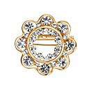 cheap Brooches-Women's Cubic Zirconia Brooches - Zircon Gothic, Statement Brooch Gold For Wedding / Gift