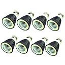 hesapli LED Şerit Işıklar-8pcs 7W 550lm E14 E26 / E27 LED Spot Işıkları 1 LED Boncuklar COB Dekorotif Sıcak Beyaz Serin Beyaz 220-240V