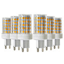 hesapli LED Bi-pin Işıklar-YWXLIGHT® 6pcs 10W 900-1000lm G9 LED Bi-pin Işıklar T 86 LED Boncuklar SMD 2835 Kısılabilir Sıcak Beyaz Serin Beyaz Doğal Beyaz 220-240V
