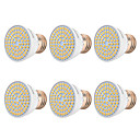 voordelige LED-spotlampen-YWXLIGHT® 6pcs 7 W 500-700 lm E26 / E27 LED-spotlampen 72 LED-kralen SMD 2835 Warm wit / Koel wit / Natuurlijk wit 220-240 V / 110-130 V