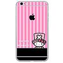 hesapli iPhone Stickerları-1 parça Deri Etiket için Çizilmeye Dayanıklı Tema PVC iPhone 6s Plus/6 Plus
