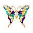cheap Brooches-Women's Brooches - Butterfly, Animal Sweet Brooch Silver / Golden For Daily / Date