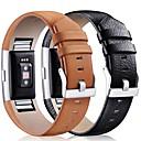 Χαμηλού Κόστους Αξεσουάρ για έξυπνα ρολόγια-Παρακολουθήστε Band για Fitbit Charge 2 Fitbit Κλασικό Κούμπωμα Δέρμα Λουράκι Καρπού