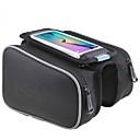 Χαμηλού Κόστους Βάσεις & Στηρίγματα-ROSWHEEL Κινητό τηλέφωνο τσάντα Τσάντα για σκελετό ποδηλάτου Αδιάβροχο Αντανακλαστικές Λωρίδες Εύκολη εγκατάσταση Τσάντα ποδηλάτου PU δέρμα Τσάντα ποδηλάτου Τσάντα ποδηλασίας iPhone X / iPhone XR
