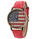 preiswerte Armbänder-Damen Quartz Armbanduhren für den Alltag Leder Band Analog Modisch Schwarz / Weiß / Blau - Rot Grün Rosa