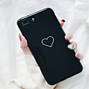 cheap iPhone Cases-Case For Apple iPhone X / iPhone 7 Plus Pattern Back Cover Heart Soft TPU for iPhone X / iPhone 8 Plus / iPhone 8