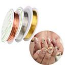 hesapli Makyaj ve Tırnak Bakımı-5 pcs Tırnak Takısı Tırnak Boyama Araçları Ayarlanabilir tırnak sanatı Manikür pedikür Günlük madeni / Nail Jewelry