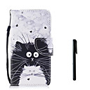 cheap Necklaces-Case For Huawei P10 Plus P10 Lite Card Holder Wallet Flip Full Body Cases Cat Hard PU Leather for P10 Plus P10 Lite P10 Huawei P9 Lite