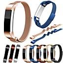 voordelige Horlogebandjes voor Fitbit-Horlogeband voor Fitbit Alta Fitbit Milanese lus Roestvrij staal Polsband