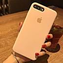 baratos Organização de Cozinha-Capinha Para Apple iPhone X iPhone 8 Antichoque Capa traseira Côr Sólida Rígida PU Leather para iPhone X iPhone 8 Plus iPhone 8 iPhone 7