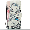 cheap Drawing & Writing Instruments-Case For Samsung Galaxy S9 Plus / S9 Wallet / Card Holder / with Stand Full Body Cases Butterfly / Sexy Lady Hard PU Leather for S9 / S9 Plus / S8 Plus
