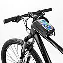 رخيصةأون حقائب الدراجة-حقيبة الهاتف الخليوي 6 بوصة الشاشات التي تعمل باللمس عاكس مقاوم للماء ركوب الدراجة إلى iPhone 8/7/6S/6 iPhone X سامسونج غالاكسي S8 + / Note 8 أسود أخضر / الدراجة / iPhone XR / iPhone XS / المحمول