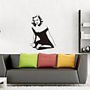 billige Mode Halskæde-Wallstickers Dekorative Mur Klistermærker - Folk Wall Stickers Kendt Kan genpositioneres Kan fjernes
