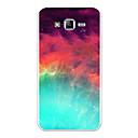 رخيصةأون حافظات / جرابات هواتف جالكسي J-غطاء من أجل Samsung Galaxy J7 (2017) / J7 (2016) / J7 نموذج غطاء خلفي منظر / كارتون / لون متغاير ناعم TPU