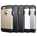 저렴한 아이폰 케이스-케이스 제품 Apple iPhone 8 / iPhone 7 충격방지 / 갑옷 뒷면 커버 솔리드 / 갑옷 소프트 TPU 용 iPhone X / iPhone 8 Plus / iPhone 8