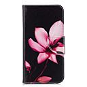 tanie Etui / Pokrowce do Huawei-Kılıf Na Huawei P20 lite P20 Etui na karty Portfel Z podpórką Flip Wzór Pełne etui Kwiaty Twarde Skóra PU na Huawei P20 lite Huawei P20