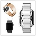 voordelige Apple Watch-bandjes-Horlogeband voor Apple Watch Series 3 / 2 / 1 Apple Butterfly Buckle Roestvrij staal Polsband