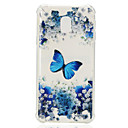 cheap Galaxy J Series Cases / Covers-Case For Samsung Galaxy J2 PRO 2018 J2 Prime Shockproof Transparent Pattern Back Cover Butterfly Soft TPU for J7 (2017) J7 (2016) J7 J5